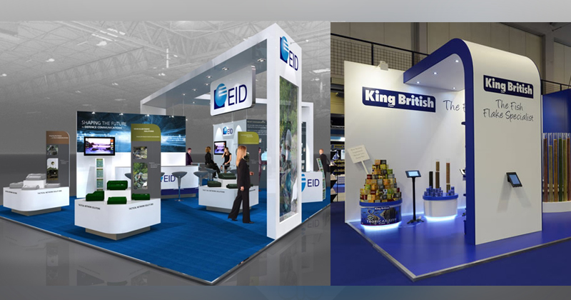 Expo Stand Elenco : Services « exhibition stands king advertising qatar